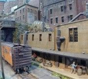 Franklin and South Manchester Gallery 2 ‹ vikas chander Scale Model Architecture, South Manchester, Model Train Layouts, Model Trains, Scale Models, Diorama, Shelving, Scenery, Gallery