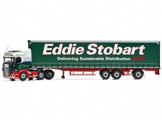 The Corgi Scania R (Face Lift) Super Curtainside Trailer, Eddie Stobart, Carlisle is a diecast model truck in 1/50 scale from the Corgi Hauliers Of Renown range.