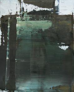 """Koen Lybaert; Oil 2014 Painting """"abstract N° 862"""""""