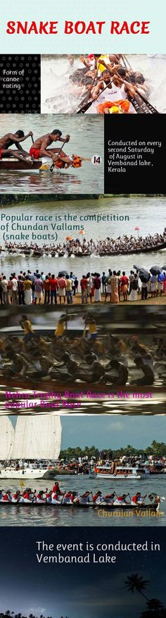 Vallam Kali or Vallamkali literally means boat play/game, but can be translated to boat race in English. The most popular event of the race is the competition of Chundan Vallams (snake boats). Hence the race is also known as Snake Boat Race in English.   The race conducted on the second Saturday of August every year is a major tourist attraction.