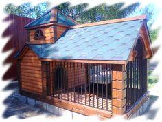 Дом Джека — утепленная будка для собаки с увеличенной зоной проживания питомца. Гарантия качества!