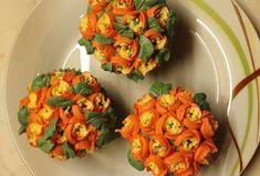 """Páči sa mi to: 4, komentáre: 0 – Božské sladké (@bozskesladke) na Instagrame: """"Krásna kytica vo forme chutných cupcakes. Niekto dáva kvety do vázy, ja na tanier. Mňam 😉"""" Cauliflower, Cupcake, Vegetables, Food, Cauliflowers, Head Of Cauliflower, Veggies, Essen, Cupcakes"""