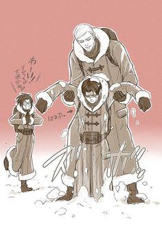 Erwin Smith / Levi / Hanji | Shingeki no Kyojin
