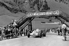 Manfred von Brauchitsch at the start of the... at Legends of Racing