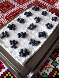 Prajitura-fara-coacere-cu-crema-fina-de-iaurt-8 Best Pastry Recipe, Pastry Recipes, Cheesecake, Deserts, Pudding, Cooking, Food, Check, Pies