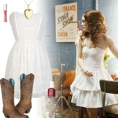 Leighton Meester - Country Strong - Country Girl Fashion Inspiration