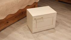 fehér modern altero éjjeli szekrény