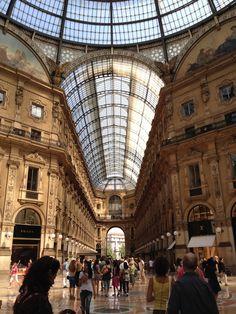 Galeria Vittorio Emanuelle II, Milan