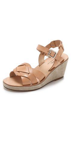 A.P.C. Marie Wedge Sandals | SHOPBOP