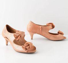 Cute kitten heels.