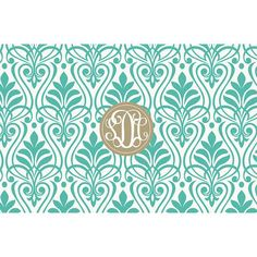 Classic Gatsby Pattern Monogrammed Lucite Serving Tray from Shelby Dillon Studios. For all your colorful home style needs, shop ShelbyDillonStudios.com.