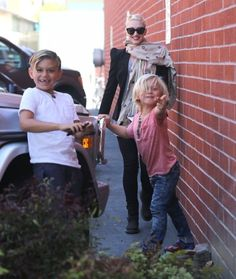 Zuma Rossdale | Zuma Rossdale Pictures - Gwen Stefani Takes Her Family to the Children ...