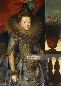 Portrait of Margherita Gonzaga (Mantova, 1591-Nancy, 1632), 1604-1605, Duchess consort of Lorraine, painting by Frans Pourbus the Younger (1569-1622), oil on canvas, cm 193x115. Florence, Palazzo Pitti (Pitti Palace) Galleria Palatina