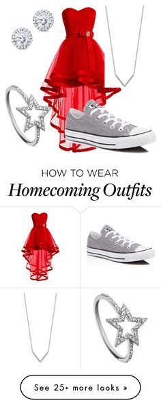 """Untitled #6"" by acstauffer on Polyvore featuring Converse, KC Designs, Effy Jewelry and Kobelli"