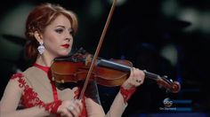 Lindsey Stirling CMA Country Christmas 2015, Celtic Carol, Silent Night.