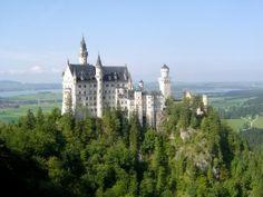 Neuschwanstein - tündérmesék palotája