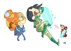 Bravest Warriors comic by Mike Holmes Mike Holmes, Bravest Warriors, Freaking Hilarious, Cartoon Art, Adventure Time, Pokemon, Character Design, Funny Pictures, Illustration Art