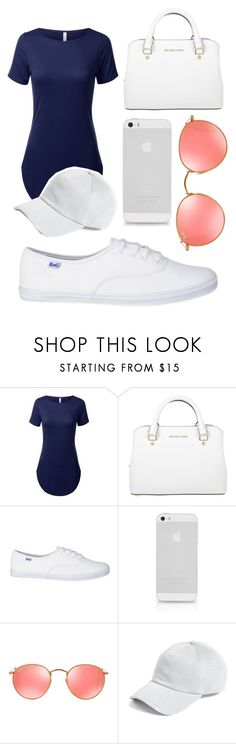 """Untitled #66"" by misszoe101 on Polyvore featuring Michael Kors, Ray-Ban and rag & bone"