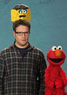 Seth Rogen & Elmo