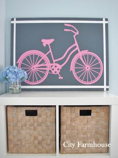 DIY Pop Art - would be cute for a kid's room