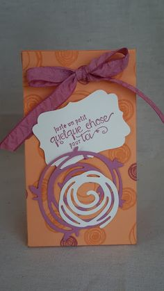 Ideacreations: Small bag for birthday