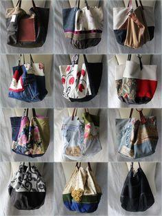 handmade in Italy Patchwork Bags, Quilted Bag, Diy Tote Bag, Latest Bags, Denim Bag, Fabric Bags, Shopper Bag, Cute Bags, Handmade Bags