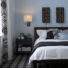 cama box cabeceira preta quarto teen - Pesquisa Google
