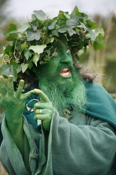 This guy freaks me out but for some reason I find it hilarious Green Man