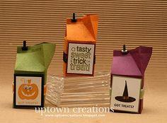 Stampin' Up Got Treats Halloween Favors!