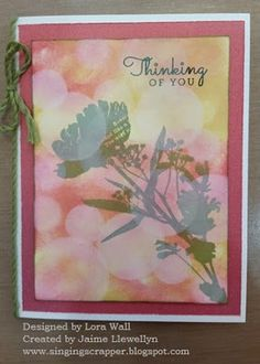 September 2015 Stamp of the Month - Paper Garden