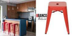 Foto - @gfprojeto Cozinha integrada - Conceito GF Projetos  gfprojetos.com.br  IFD2 - Banco Arturo Vermelho ifd2.tumblr.com br.pinterest.com/ifd2  #inspiração #gfprojetos #ifd2 #cozinha #banco #moderno #homedecor #estilo #kitchen #decorstyle #decoraçao #details #cool #interiores #lovedecor #red #design #objetosdedecoração #inspire #amazing #estiloso #colagem #referencia