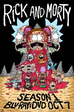 Rick and, Rick and morty and Sons on Pinterest