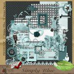 Simply Blue $4.99    Another of the Simply kits that I love