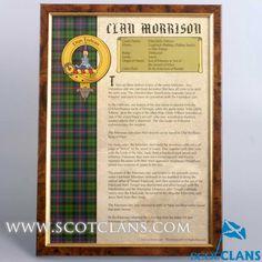 Morrison Clan Histor