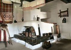 Vacanta in tara din centrul Bucurestiului – Spa Living Rural House, Bucharest, Traditional House, Kitchen Interior, Old Houses, Rustic Decor, Bed, Furniture, Country Cottages