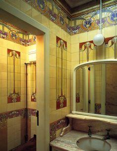 David Piper Tiles: Art Nouveau Tiles