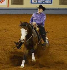 Horse Training for the Sliding Stop -- Avoid common mistakes and master the perfect sliding stop for your next reining pattern. | americashorsedaily.com