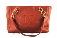 Chanel | Rust color leather bag