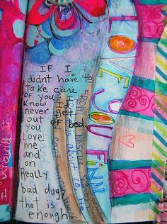 Suzi Blu Art Journal Page