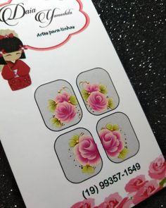Boa tarde Modelinho novo do kit da semana ♥️😍 Para um melhor atendimento, favor chamar no whats (19)99357-1549 #adesivos #adesivosdeunhas… Nails Inc, Nail Decals, Flower Nails, Nail Art, Homemade, How To Make, Design, Nail Stickers, Art Nails