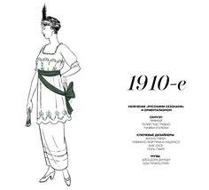 Краткая энциклопедия истории моды XX века