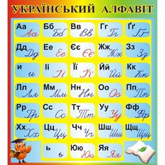 Ukraiński alfabet
