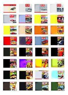 1:25 G scale model car Hot Rod magazines