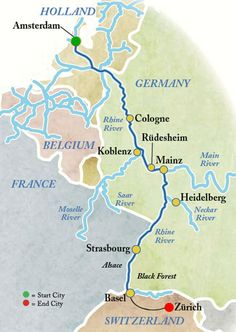 Rhine River Cruise we doing this in July.  Would love to do this!! Maybe one day?