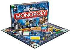 I would probably play an entire game of Monopoly if it was Dr. Who themed.