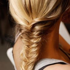 Fishtail braid! One of my faves from hairstyles! <3