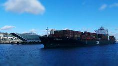 Container Schiff Hausbau #galaxycam