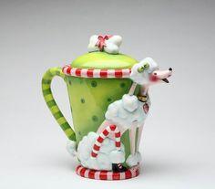 """Poodle Tea Time"" Ceramic Teapot"