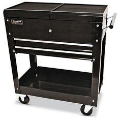 homak bk06022704 27 inch 2 drawer tool cart