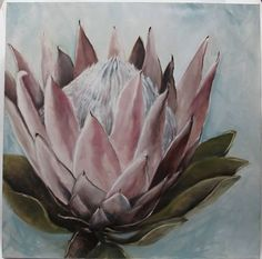 Izolda vd Merwe Watercolor Flowers, Watercolor Paintings, Painting Flowers, Painting Art, List Of Paintings, Protea Art, South African Artists, Printable Art, Printables